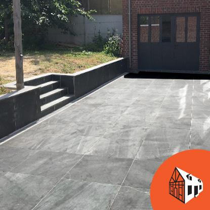nord habitat travaux 59 nord amenagement exterieur chantier terrasse pierre don 59272