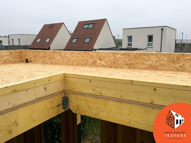 nord habitat travaux 59 nord amenagement exterieur chantier terrasse lesquin 59810